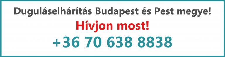 Duguláselhárítás Budapest és környéke - Kovács és fia