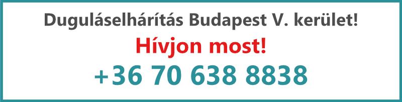 Kovács és Fia duguláselhárítás V. kerület Budapest