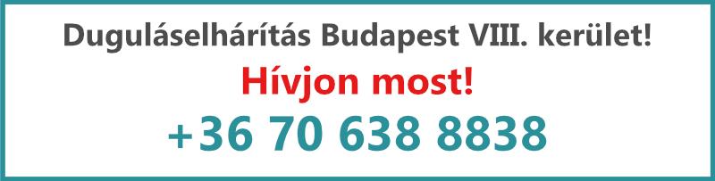 Kovács és Fia duguláselhárítás VIII. kerület Budapest